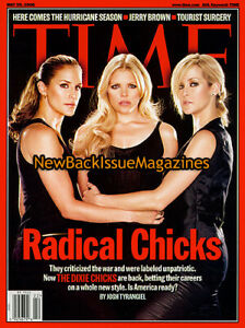 Time-5-06-Dixie-Chicks-Natalie-Maines-Martie-Erwin-Emily-Erwin-May-2006-RARE-NEW