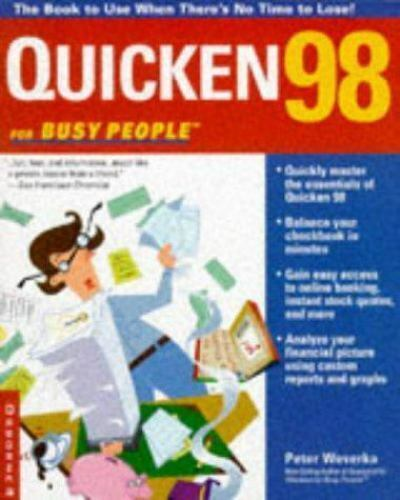 Quicken 98 for Busy People by Peter Weverka