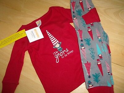 NEW Gymboree boys Christmas Holiday Santa Elf pajamas pj/'s  6-12 12-18 month NWT