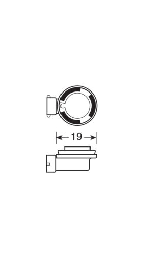 H11-70W PGJ19-2 BOX LAMPA 24V BLU-XE HALOGEN LAMP 1 PCS