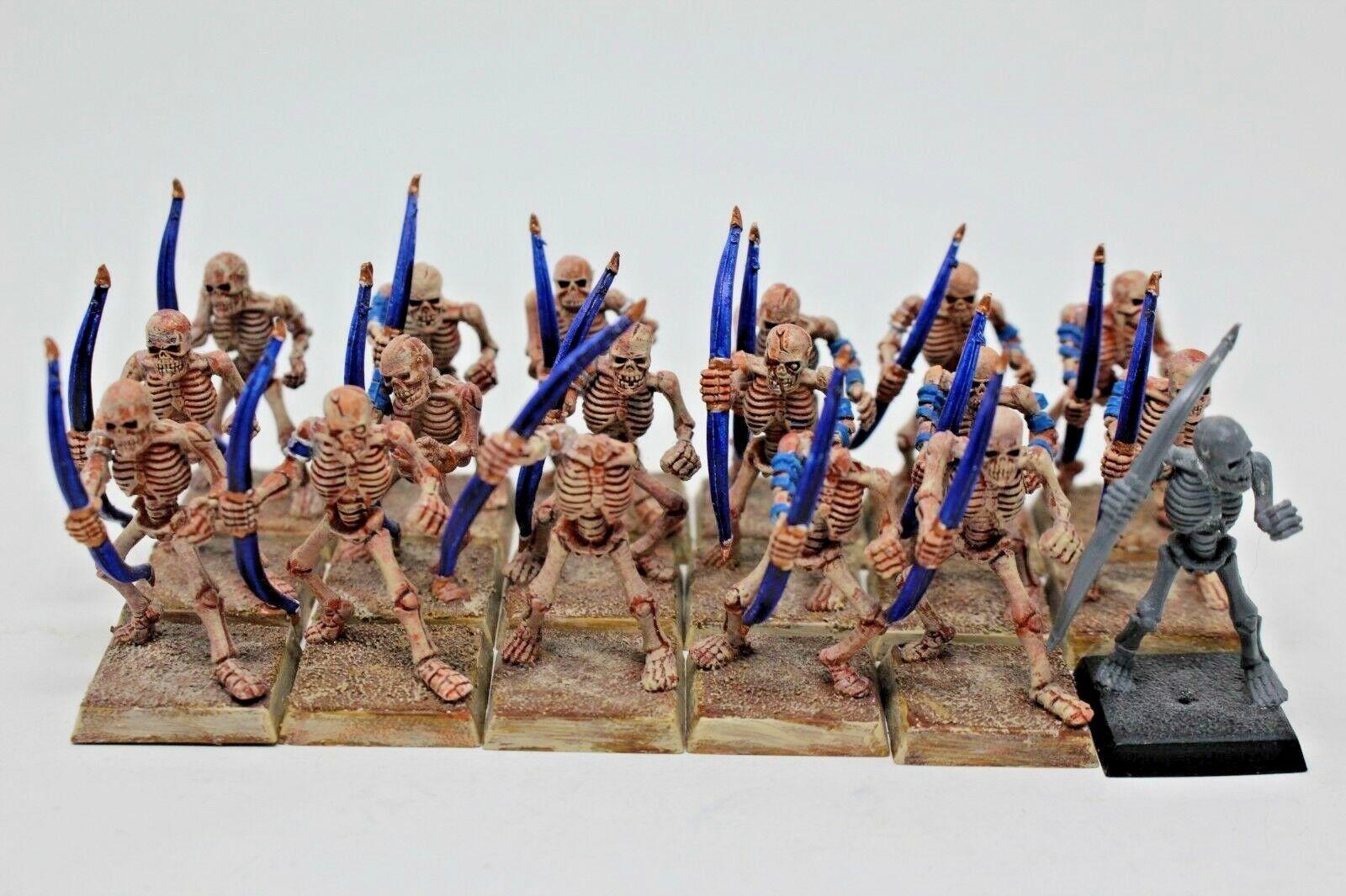 Warhammer grab könige skelett bogenschützen gut gemalt - jsys63