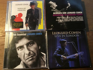 Leonard-Cohen-7-CD-1DVD-Live-in-London-Essential-Acordes-Popular-Problems