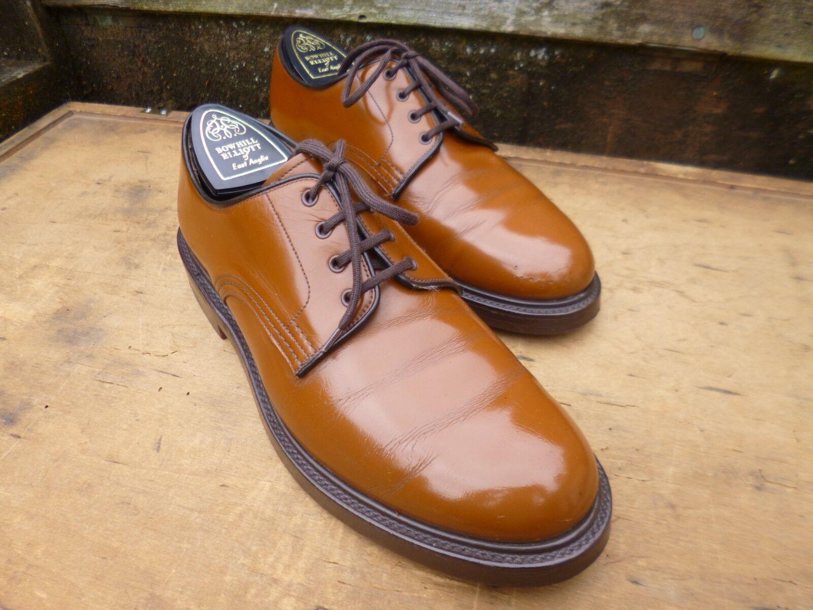 Iglesia Derby Zapatos – café bronceado-UK 7.5 – Anglesey – Excelentes Condiciones