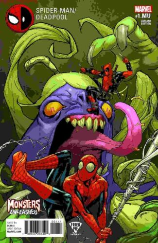 SPIDER-MAN DEADPOOL #1.MU FRIED PIE VARIANT SEALED NEAR MINT  COMIC