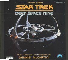 Dennis McCarthy Maxi CD Theme From Star Trek Deep Space Nine - Europe (M/M)