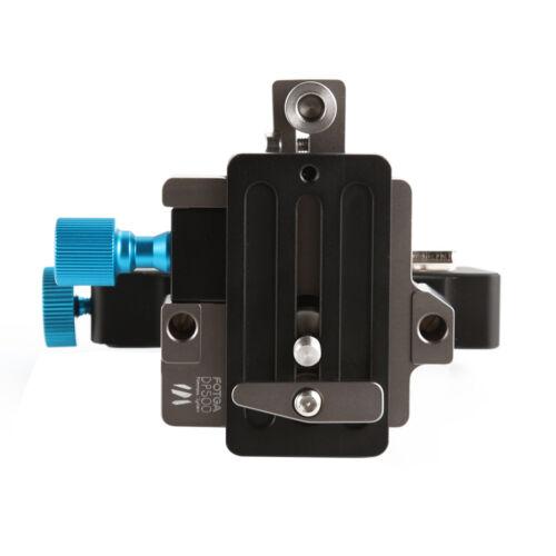 FOTGA DP500III Adjustable Quick Release Baseplate for 15mm Rod DSLR Camera Rig
