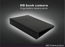 1080P HD Spy Book Camera Home Security Night Vision Motion Activated Hidden DV