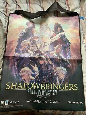 *NEW* E3 2019 Final Fantasy XIV SHADOWBRINGERS Giant Tote Bag, Square Enix    eBay
