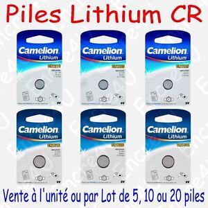 Pile-Lithium-3V-CR1216-CR1220-CR1225-CR1616-CR1620-CR1632-x-1-ou-par-Lot