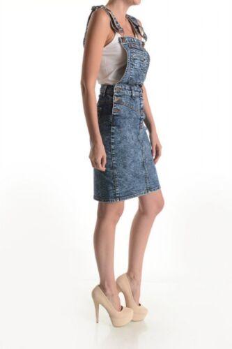 Overall Nuovo Gjg Denim Xs L Acid Women Wash Dress Ladies S M qURwTngU