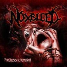"Noxbleed ""Progress in dementia"" CD [brutalmente death metal like pyrexia Dying Fetus]"