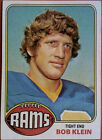 1976 Topps Bob Klein Los Angeles Rams #42 Football Card