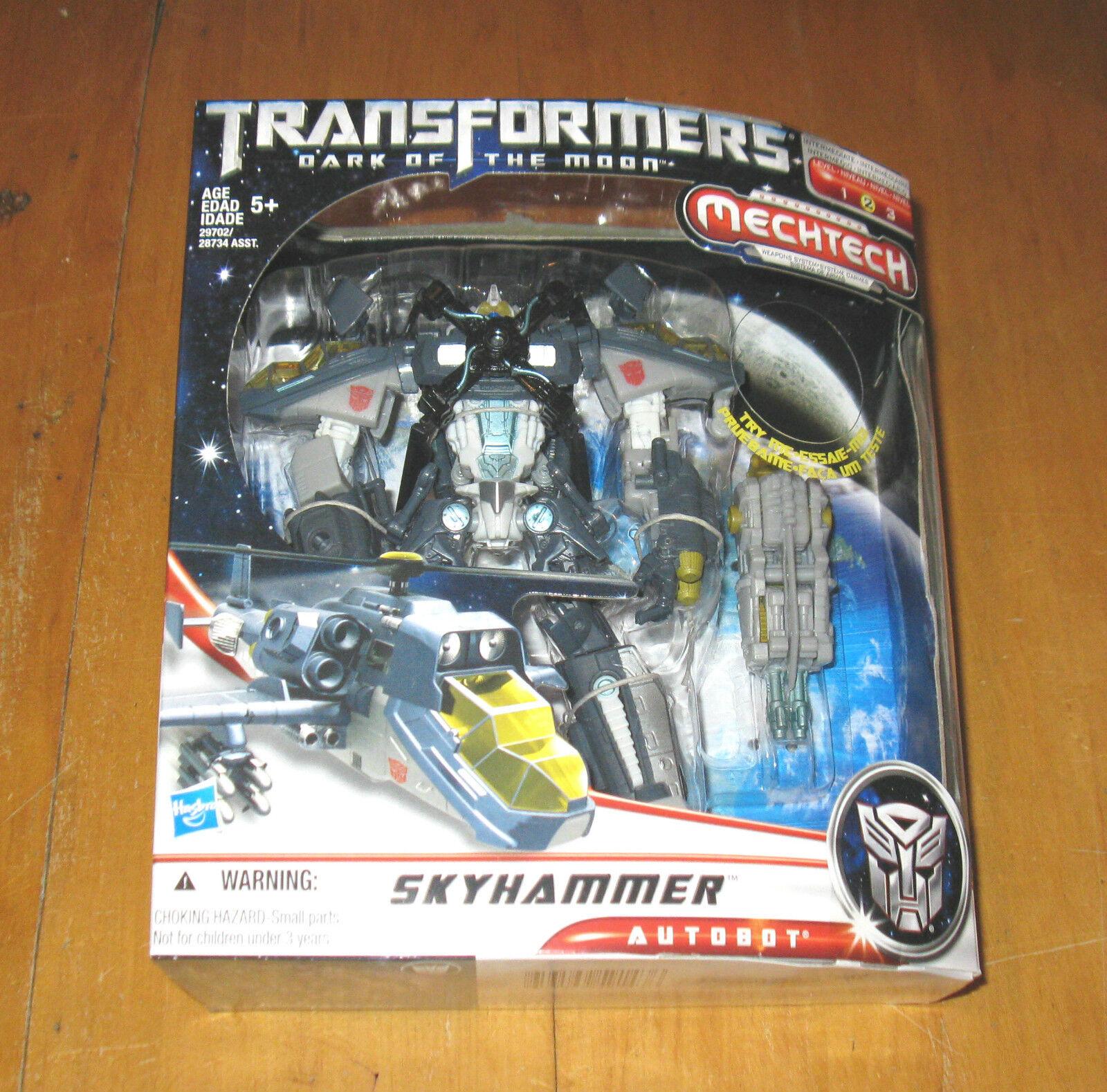 Transformers Dark of The Moon Mechtech Skyhammer 2010 MB
