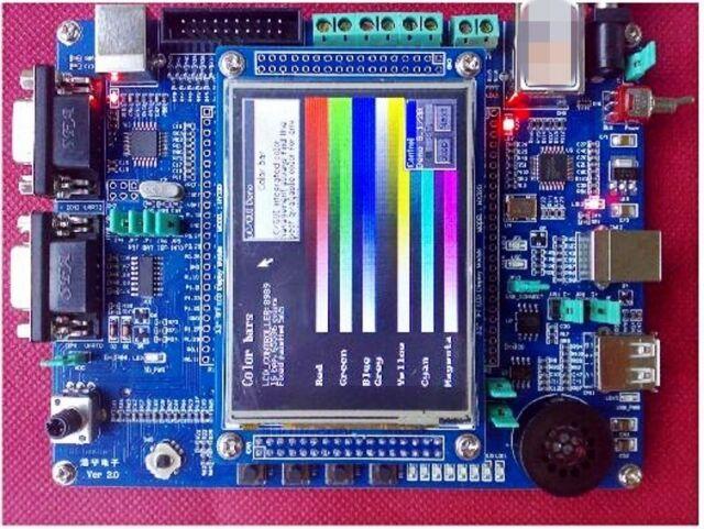 NXP ARM Cortex-M3 LPC1768 development board+3 2 inch color module version  V2 0