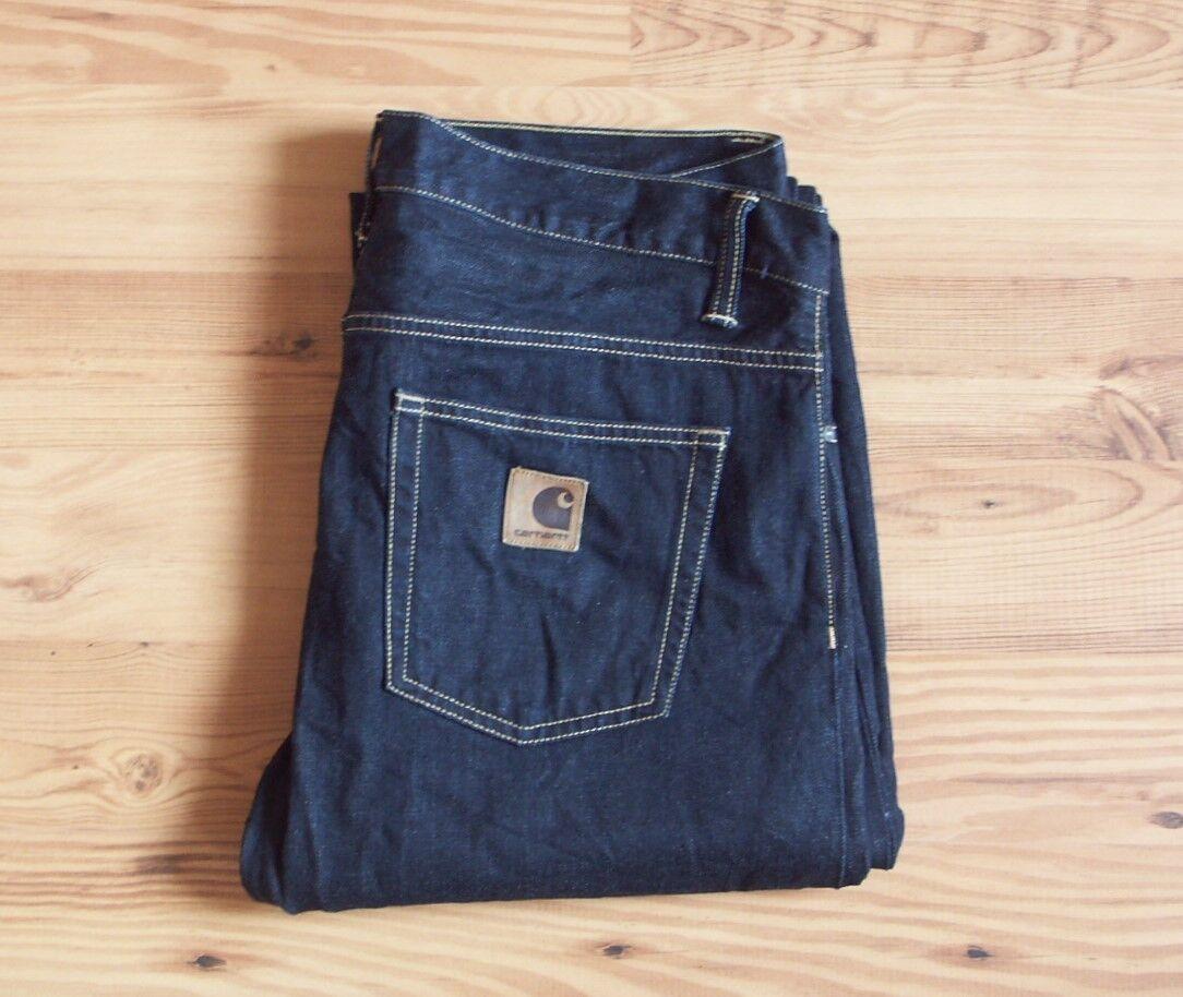 CARHARTT Pant Pantalon Davies Pant CARHARTT Jeans 34/32 bleu a1c86c