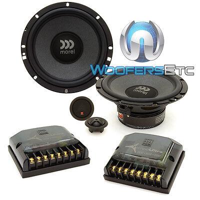 "MOREL MAXIMO ULTRA 602 COAX 6.5/"" CAR 2-WAY SOFT TWEETERS COAXIAL SPEAKERS NEW"