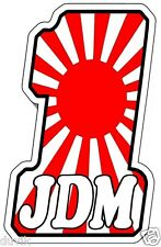 #1 JDM JAPANESE FLAG STICKER JDM RACING PARTS