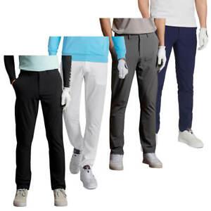Lyle & Scott Mens Golf Tech Light Stretch Breathable Trousers 55% OFF RRP