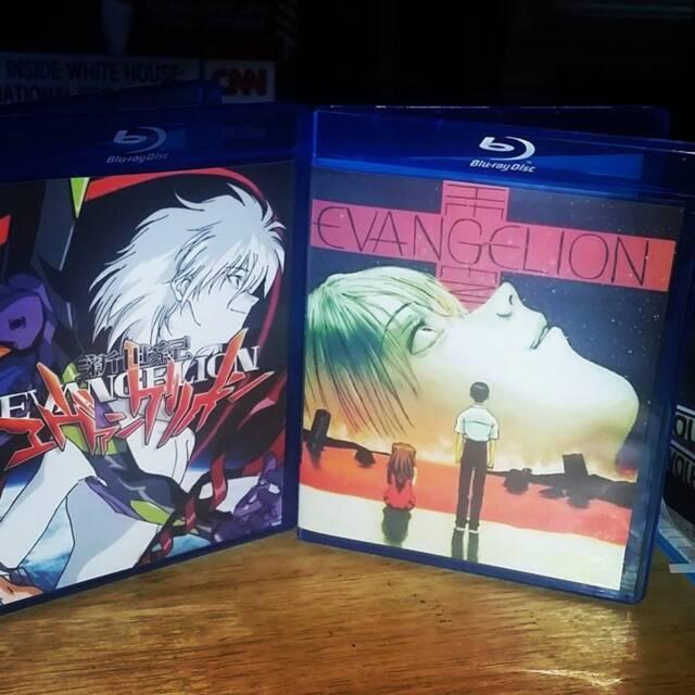 Neon Genesis Evangelion Complete Series and Movie  7 Bluray Set English Sub-Dub