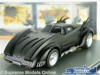 Batman Batmobile Auto Modello 1:43 Taglia Eaglemoss Cimeli Automobilistici 526 Fumetto Animata T3-mostra Il Titolo Originale Forte Imballaggio