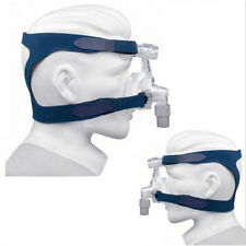 Universal Blue Respironics Comfort Gel Full Face Mask Headband Without Mask