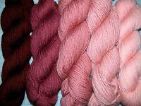 Wood Rose Family Paternayan Wool 3ply Persian Yarn Needlepoint Crewel