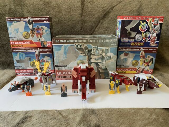 Transformers FansProject Retro Future Glacialord Wildest Combat team Set of 5