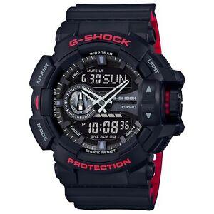 Casio-G-Shock-Mens-Wrist-Watch-GA400HR-1A-GA-400HR-1A-Analog-Digi-Rotary-Blk-Red