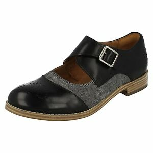 Clarks Smart Ladies 'zyris Nova' Shoes Negro BvBxrwqTn