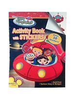 Little Einsteins Activity Book W/ Stickers (1ct) Free Shipping