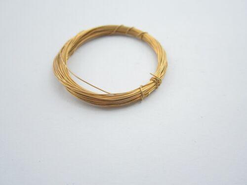 1 metro filo argento 925 placcato oro giallo diametro  0,35 mm made in italy 00