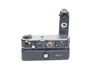 Nikon-MD-2-With-MB-1-Battery-Pack-For-Nikon-F2-Cameras-TESTED