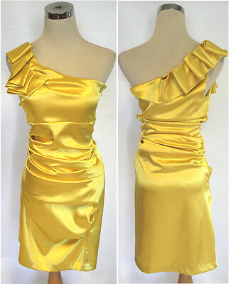 NWT WINDSOR $90 IVORY GOLD Prom Party Cocktail Dress 13