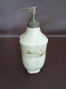 Glass Hand Soap Pump Dispenser (Empty) (Cat.#2B036)