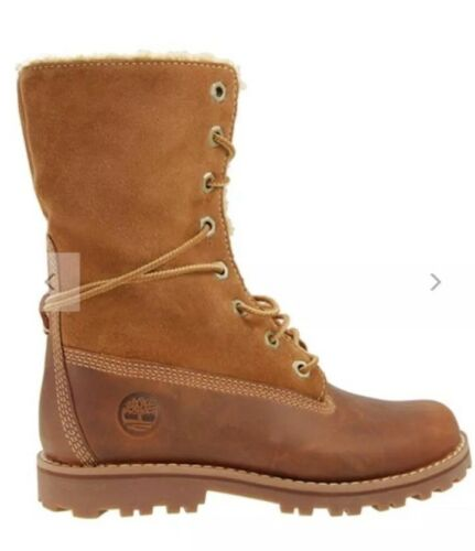 20 eu Boot Brown Sherling 5 Timberland Uk4 In Toddler 6in Taglia Authentics qxwRZz6v