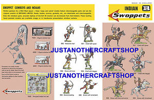 Britains-Swoppets-Indians-1960-039-s-A3-Poster-Advert-Shop-Display-Sign-Leaflet