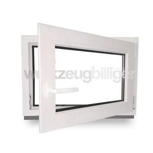 kunststofffenster kellerfenster fenster wohnfenster 80x60 cm 3 fach verglasung ebay. Black Bedroom Furniture Sets. Home Design Ideas