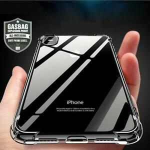 Antichoc-Bumper-Silicone-Housse-Coque-iPhone-Apple-XS-Max-XR-X-2018-Clear-Case