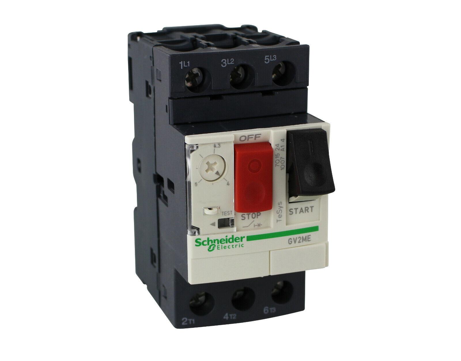 Schneider Interruptores GV2ME07 1,6-2,5A para Drehstrommotoren 400V IP20