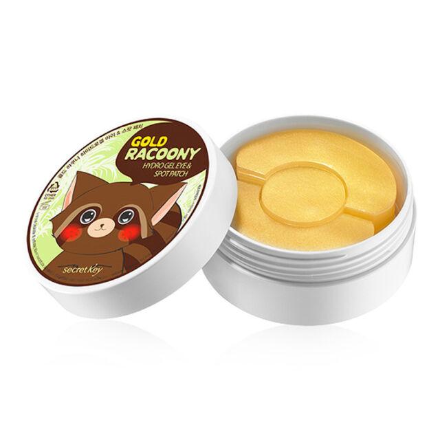 SECRET KEY Gold Racoony Hydrogel Eye & Spot Patch 90 sheet (Eye60+Spot Patch30)