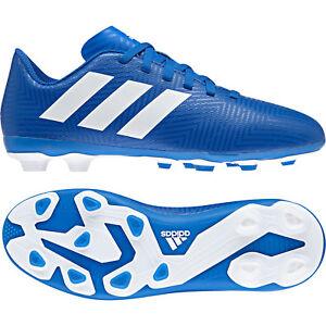 Adidas-Kids-Shoes-Boys-Soccer-Nemeziz-18-4-Firm-Ground-Football-Boots-DB2357-New