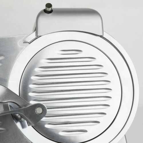 Hkoenig Affettatrice Macchina per Tagliare Carne Fredda 0-12mm 240 Watt Argento