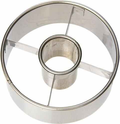 3-1//2-Inch Ateco Harold Import Company 14423 Stainless Steel Doughnut Cutter