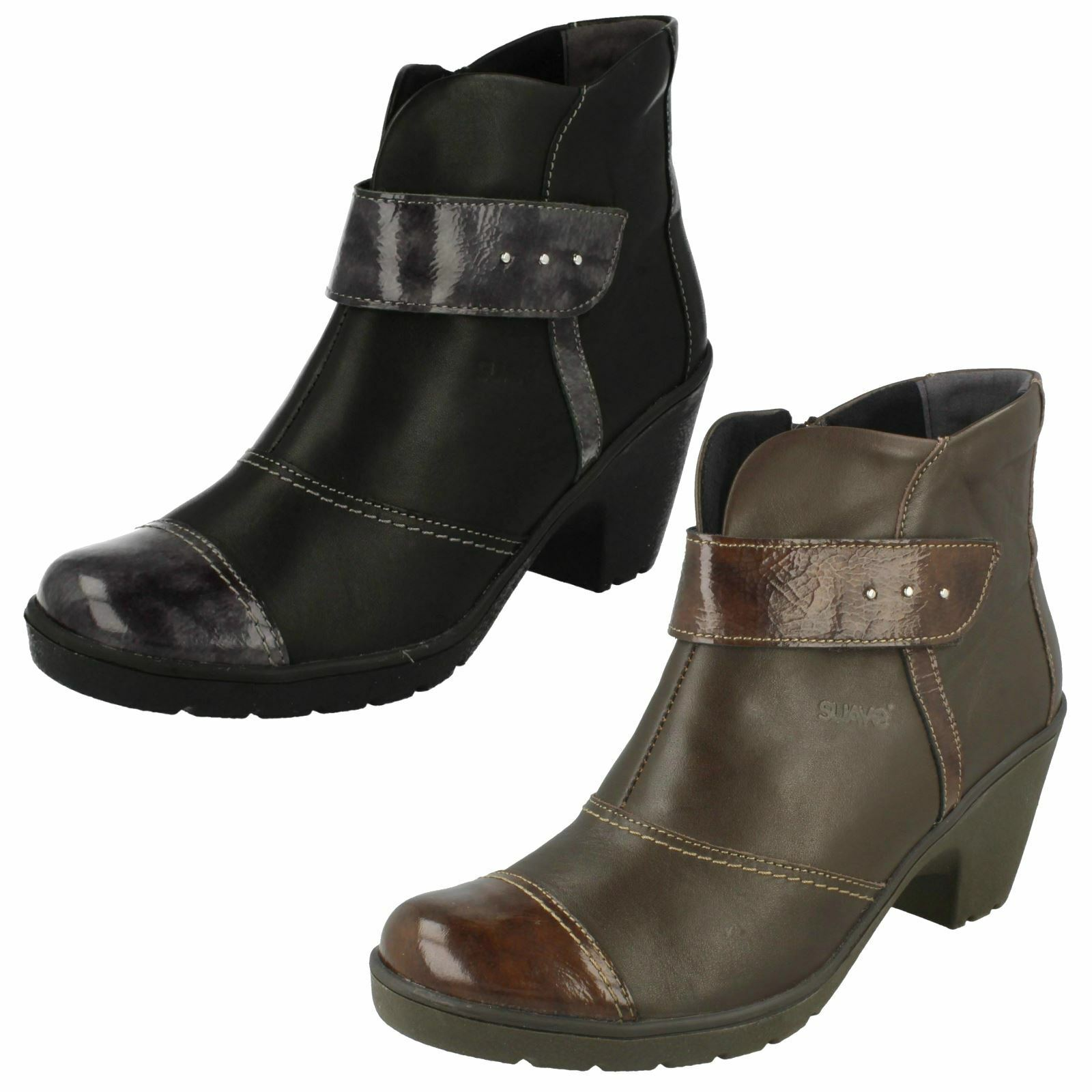 Ladies Suave Smart Ankle Boots 'Kaley'