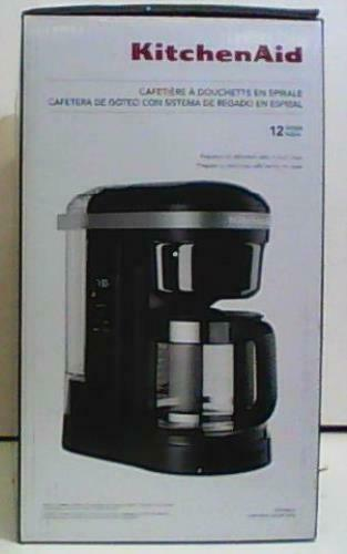 KitchenAid KCM1208OB Drip Coffee Maker 12 Cup Onyx Black $108.68