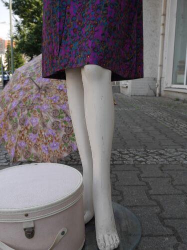 Rockabilly Tageskleid De Vintage Peplum Kleid 50 Silky M Robe Lila True 50er Jour 45qv1BIv