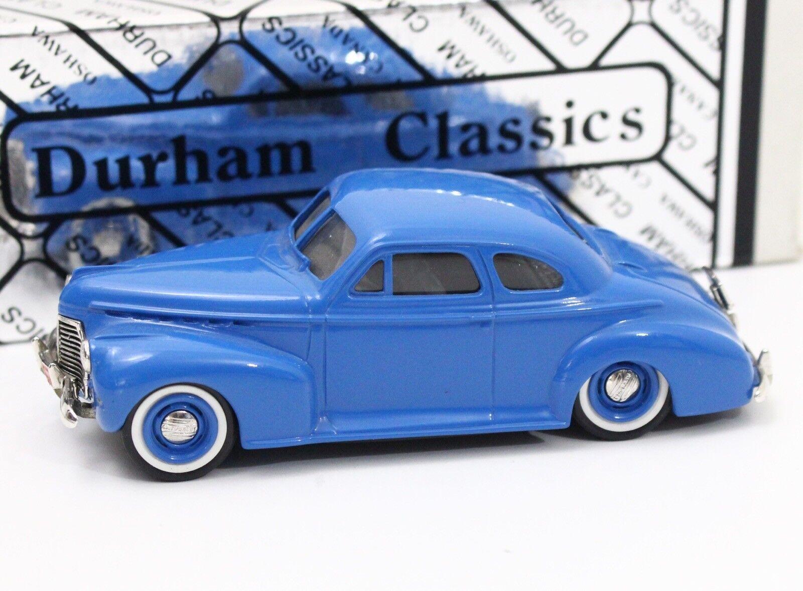 1941 chevrolet deluxe coupé durham klassiker kanada 1 43 skala 4.5  länge