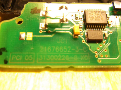 Peugeot 21676652 HU83 Citroen Remote key 2 buttons CE0536 PCF7941 unlock chip
