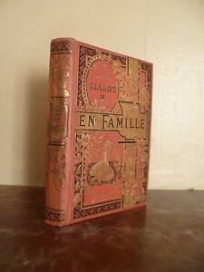 H-Malot-IN-Famiglia-Flammarion-Parigi-Illustr-lanos-Tr-or-Volume-1-Nouv-edit