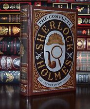 Complete Sherlock Holmes A.C. Doyle New Sealed Leather Bound Collectible Deluxe